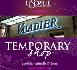 TEMPORARY SHOP 15/16/17 Giugno Hotel Valadier