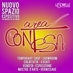 AREA CONTESA 19-20-21 ON APRIL – TEMPORARY SHOP VIA MARGUTTA
