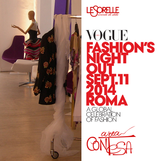 VOGUE FASHION NIGHT OUT 2014 – 11 SETTEMBRE