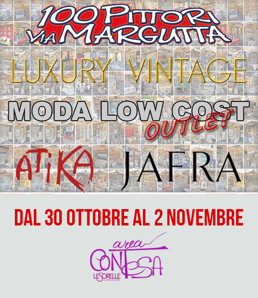 100 PITTORI VIA MARGUTTA – 30 OTT – 02 NOV – AREA CONTESA