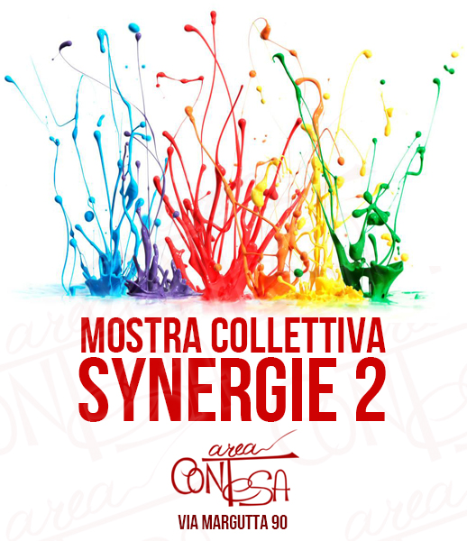 SYNERGIE 2 MOSTRA COLLETTIVA 28 OTT / 1 NOV AREA CONTESA