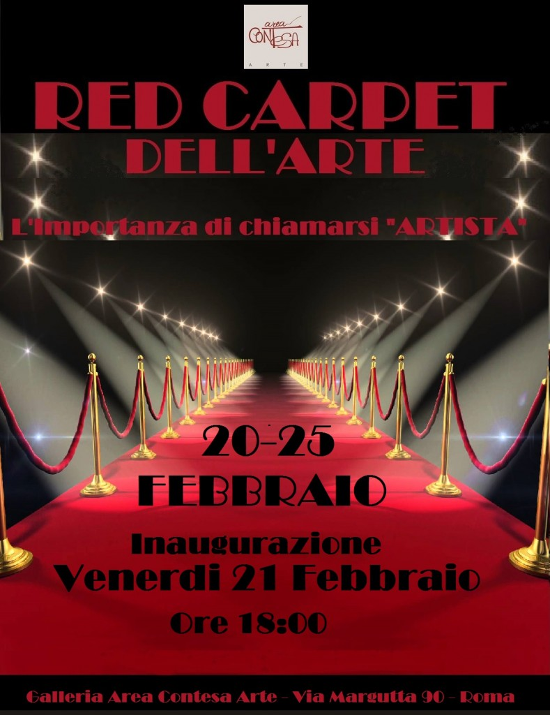 (Italiano) Red Carpet dell'ARTE